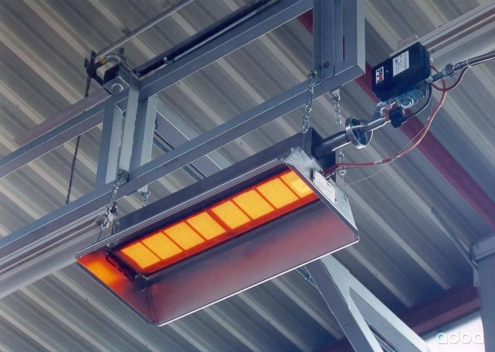 Все о промышленных обогревателях: инфракрасных, газовых