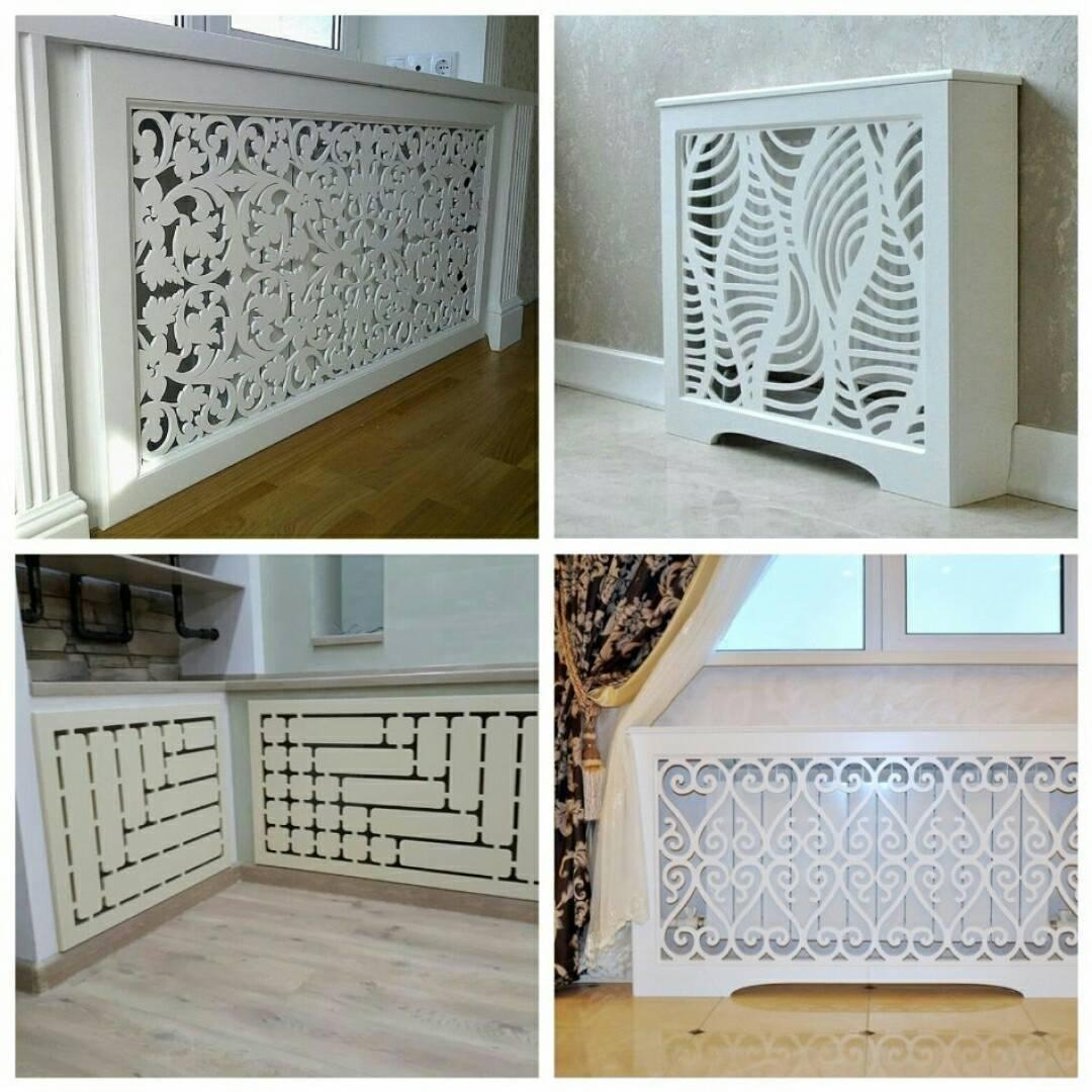 Преимущества декоративных решеток на чугунные радиаторы отопления
