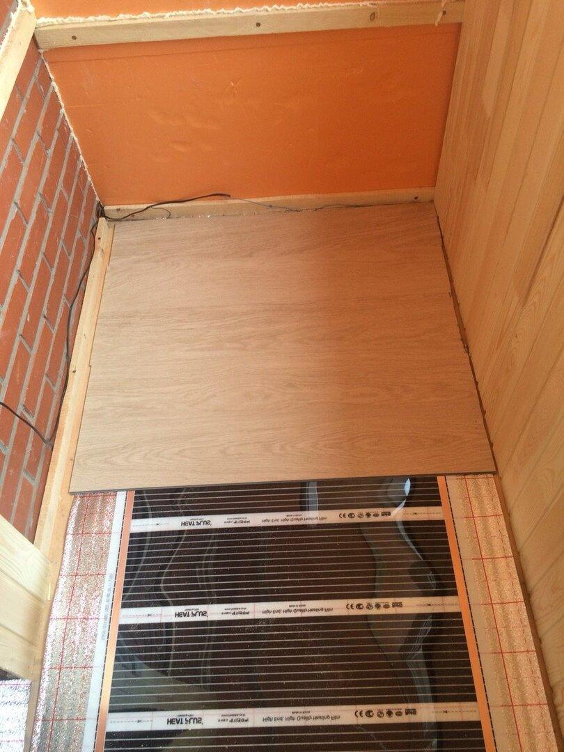 Теплый пол на балконе под линолеум - варианты создания