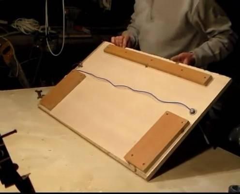 Станок для резки пенопласта струной - как сделать своими руками