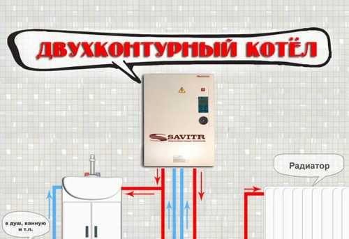 Двухконтурные электрические котлы настенного типа: особенности, преимущества и недостатки
