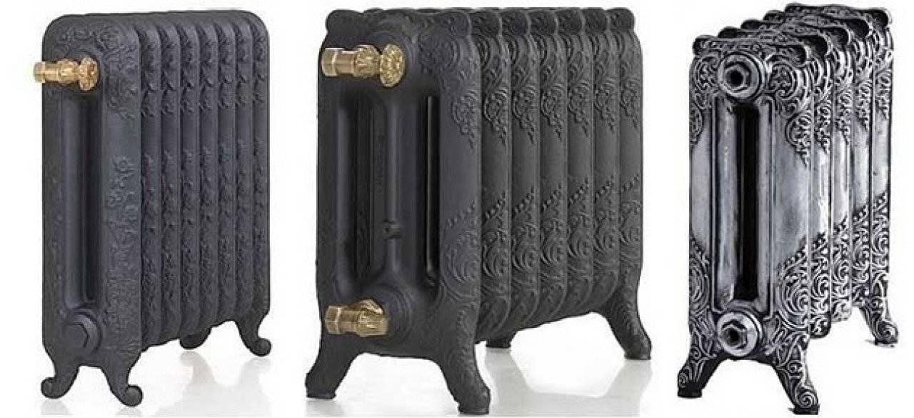 Чугунные радиаторы отопления в стиле ретро: особенности, плюсы и минусы, производители