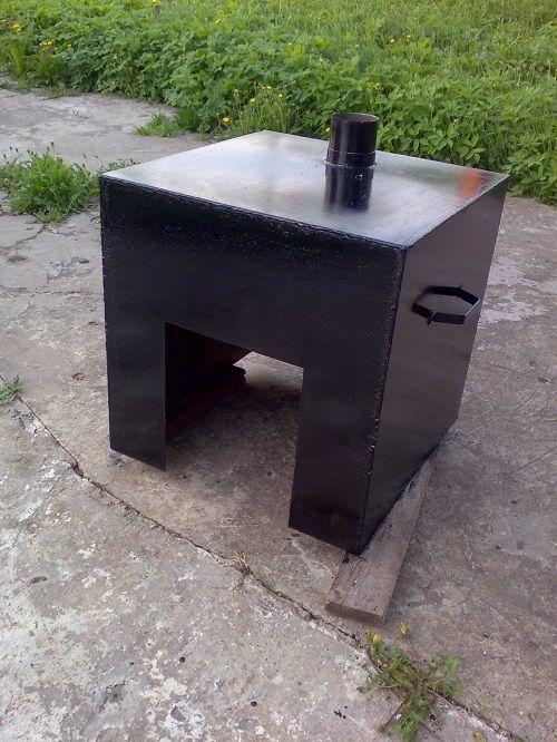 Печь для сжигания мусора: виды готовых и самодельных конструкций