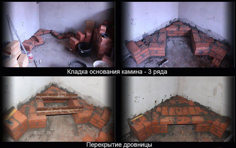 Угловой фальш-камин, пошаговая инструкция по изготовлению своими руками