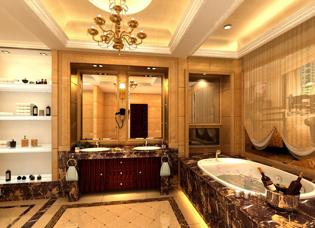 Элитный дизайн ванной комнаты: примеры с фотографиями