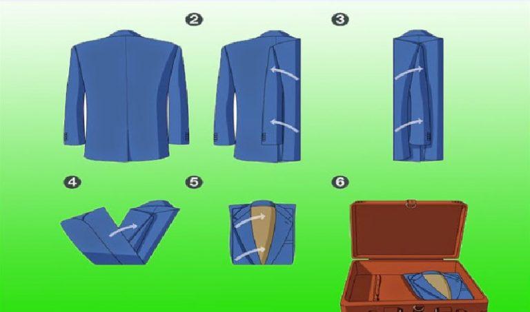 Как правильно и компактно складывать вещи для идеального порядка и чтобы не помялись
