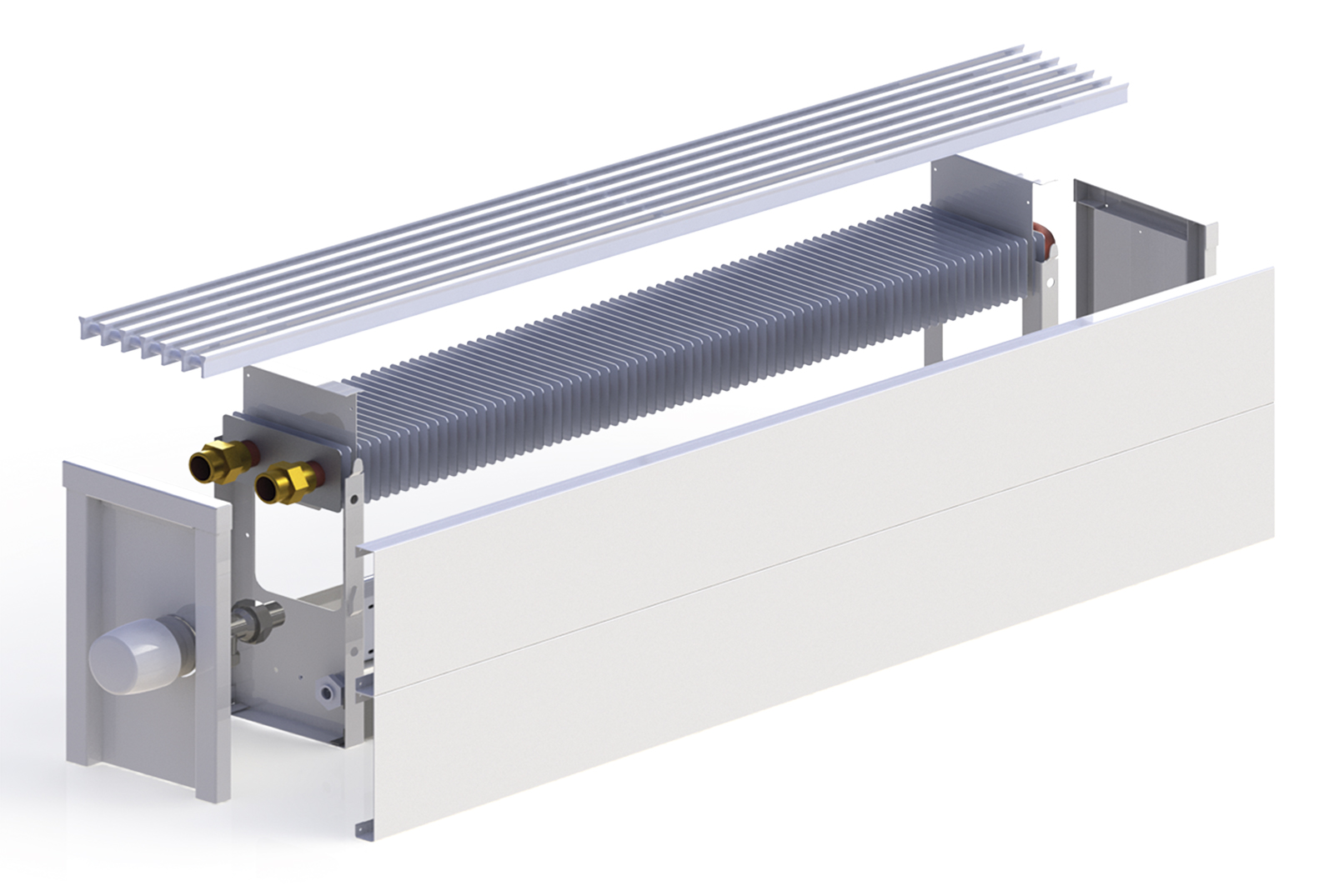 Технические характеристики водяных конвекторов отопления