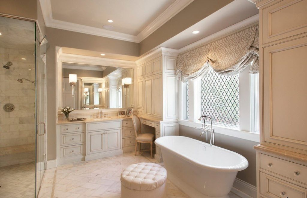 Дизайн ванной — современные отделочные материалы, оборудование и сантехника для интерьера, освещение ванной комнаты. 95 фото дизайна ванных комнат в современном стиле
