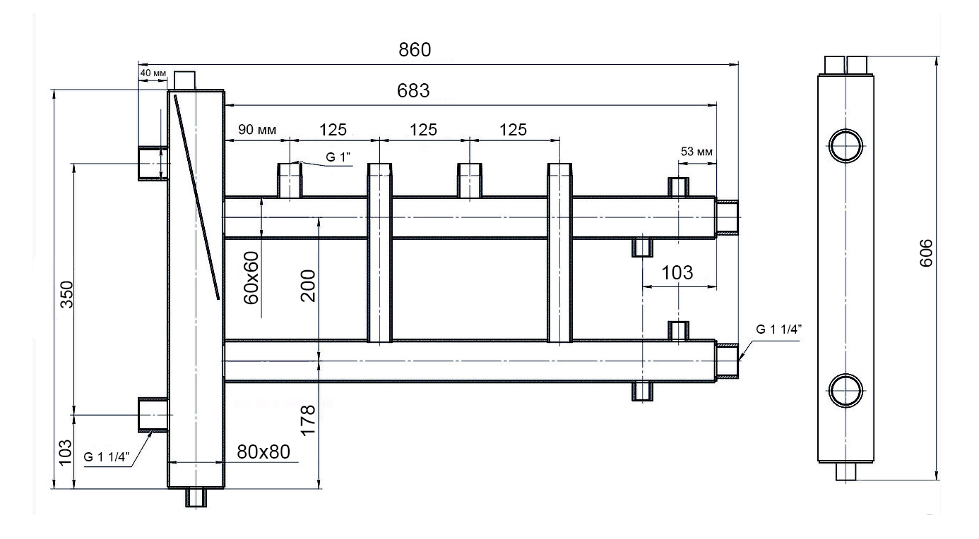 Гидрострелка для отопления: разделитель и принцип работы в системе, назначение и расчеты
