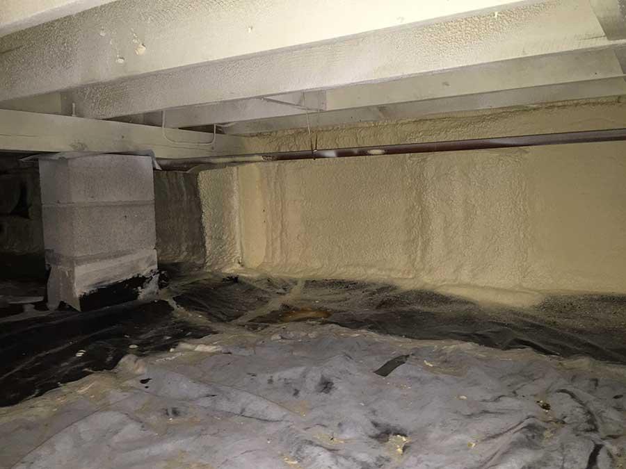Как правильно утеплить бетонный потолок в квартире