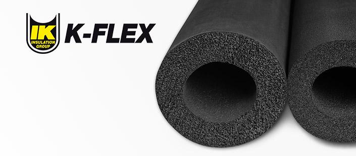 Теплоизоляция на основе вспененного каучука k-flex