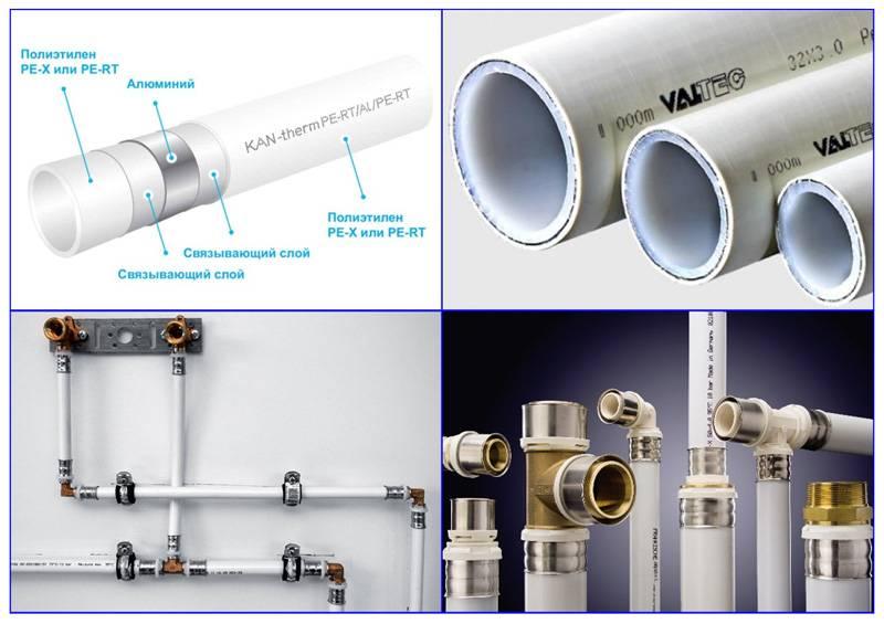 Монтаж стандартных и нестандартных соединений металлопластиковых труб