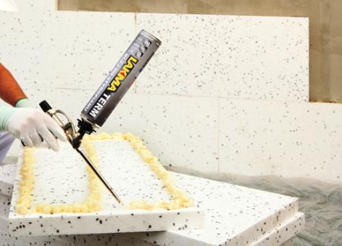 Чем приклеить пенополистирол и пенопласт к бетону?
