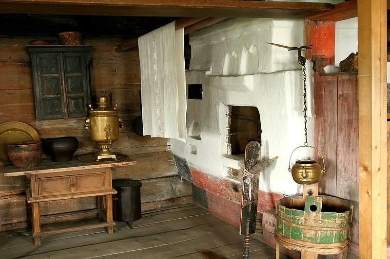 Интерьер в стиле русской избы и старинной усадьбы - наш уютный дом - медиаплатформа миртесен