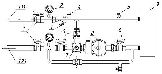 Смесительный узел для вентиляции | узел обвязки калорифера приточной установки - схема, виды и типы