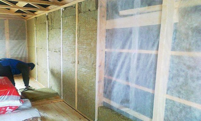 Качественое утепление деревянного дома изнутри
