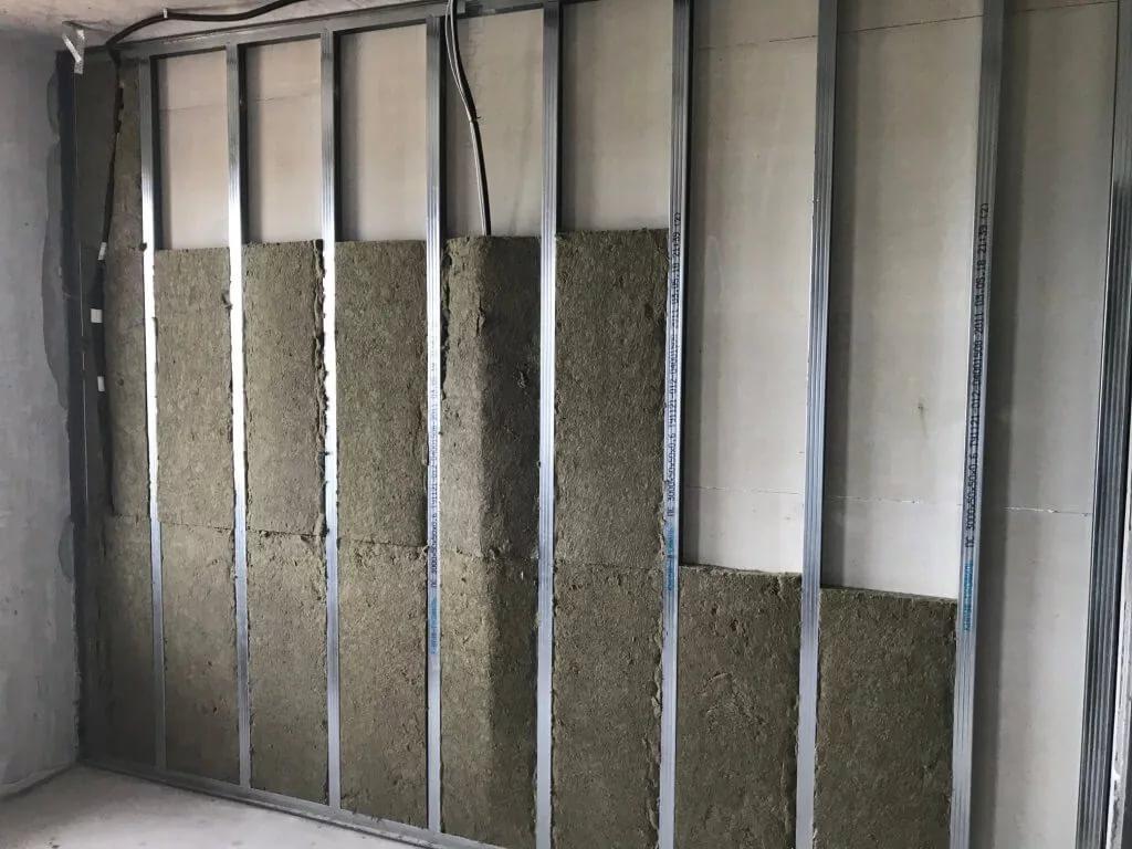 Что лучше использовать для шумоизоляции стен из гипсокартона