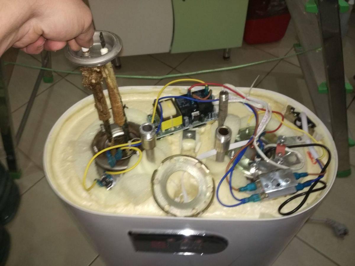Как выполнить ремонт водонагревателя своими руками