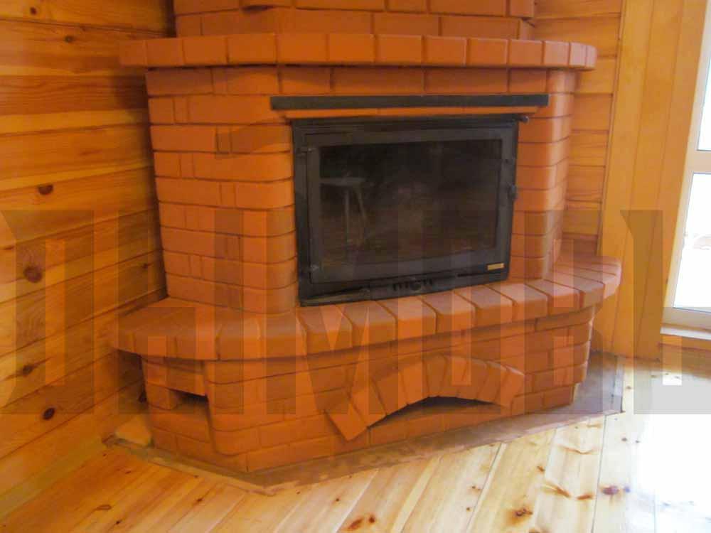 Угловой камин (117 фото): конструкции в интерьере гостиной, своими руками - пошаговая инструкция, размеры порталов