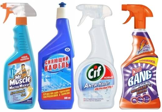 Чем помыть кафель в ванной чтобы блестел: обзор чистящих средств