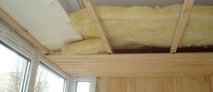 Технология утепления деревянного потолка