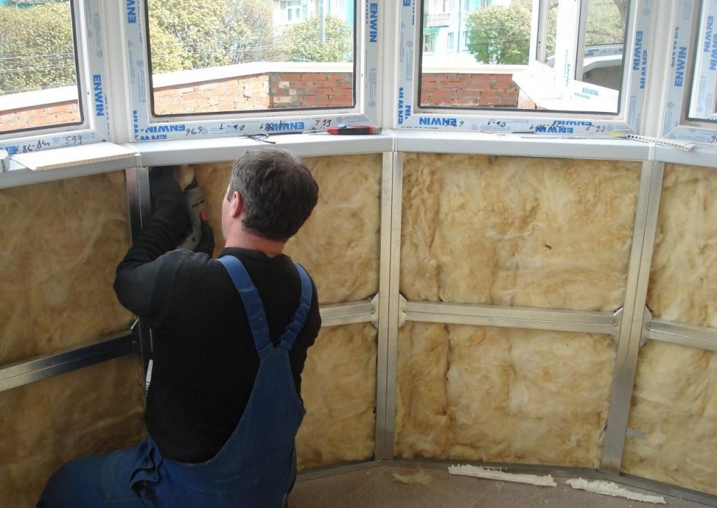 Как утеплить балкон изнутри своими руками   советы и рекомендации