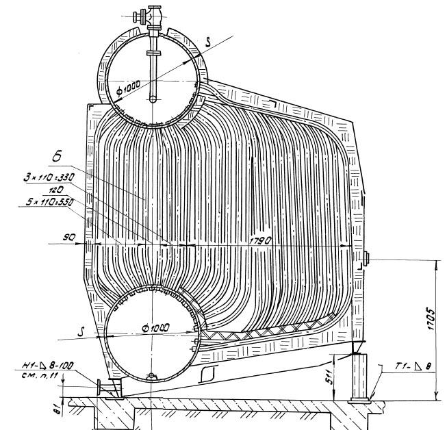 Курсовая работа: поверочный тепловой расчет топки парового котла