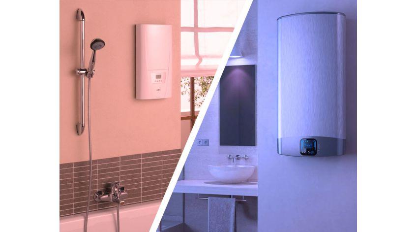 Водонагреватели: проточные или накопительные. какой водонагреватель лучше?