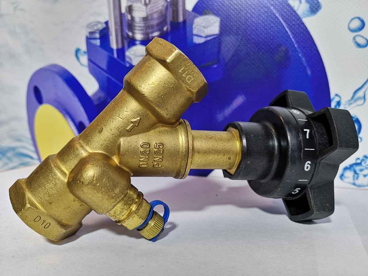 Балансировочный клапан для системы отопления: разновидности, особенности установки
