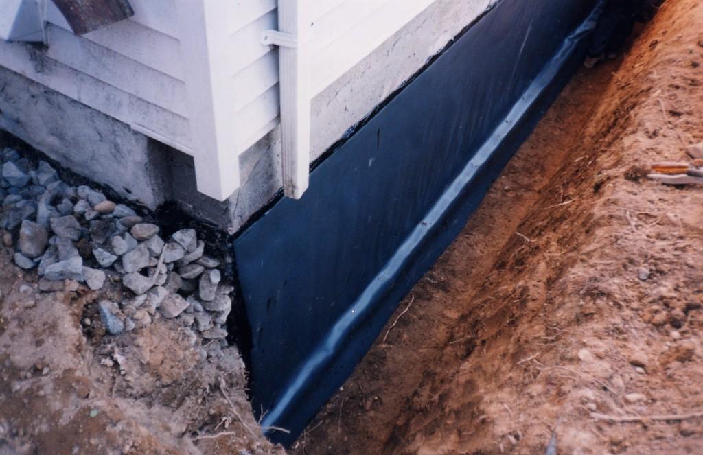 Защита фундамента от влаги, воды, дождя, промерзания