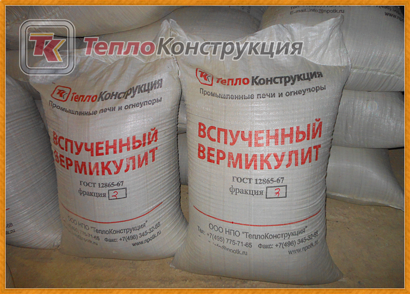 Важные свойства вермикулитовых плит