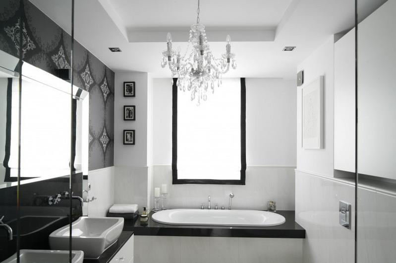 Оптимальный вариант: дизайн ванной в классическом стиле