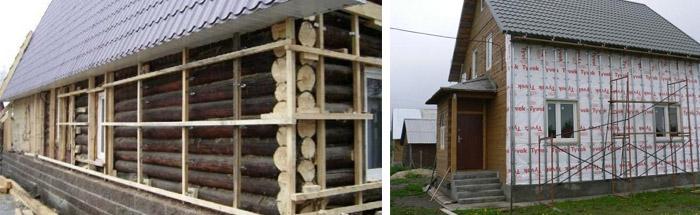 Можно ли утеплять деревянный дом пеноплексом? - о нюансах в строительных работах