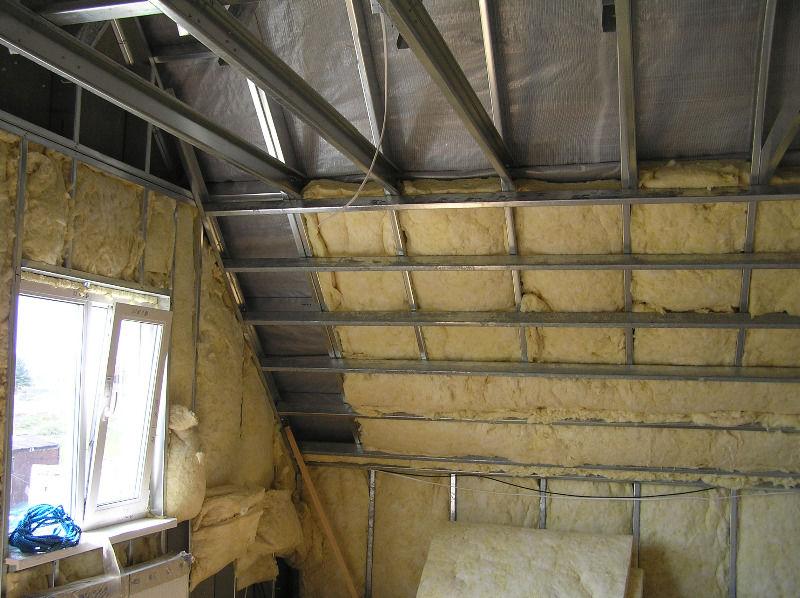 Утепление металлического гаража: как утеплить изнутри своими руками железный гараж, как правильно обшить стены минватой и пенопластом