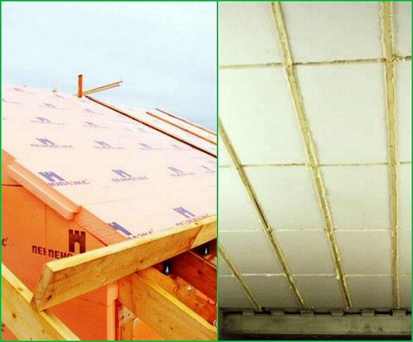 Как утеплить крышу пенопластом: ответы навсе вопросы
