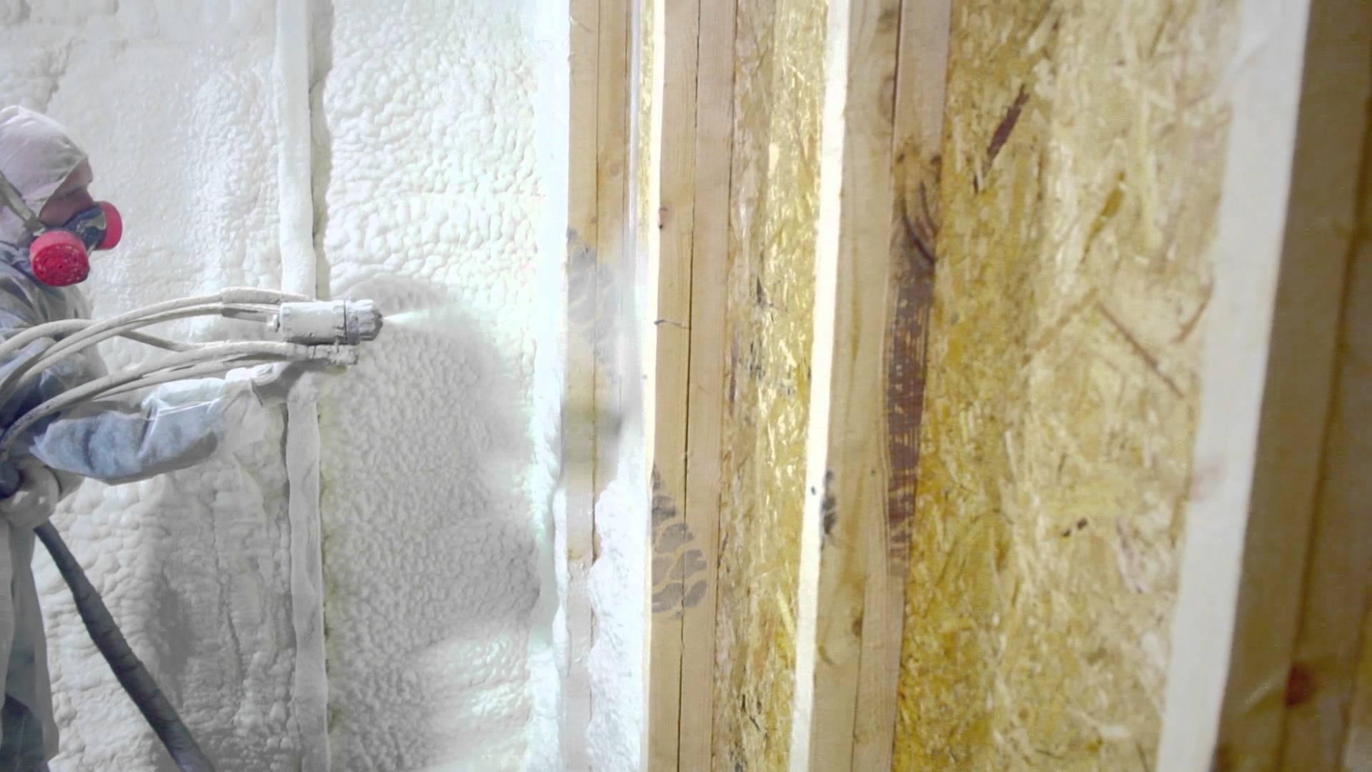 Утепление балконов и лоджий пенополиуретаном