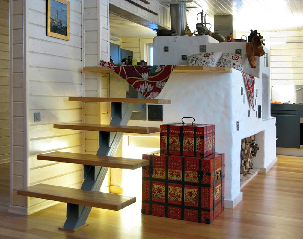 Кухня с печкой в частном доме: дизайн интерьера в деревенском и частном доме, особенности обустройства при наличии печки