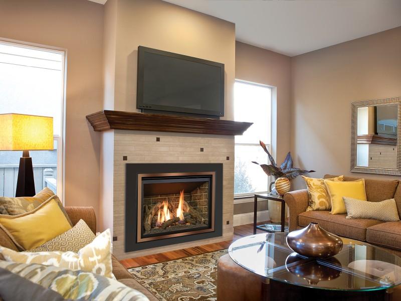 Камин в квартире и лучшие варианты дизайна с его использованием