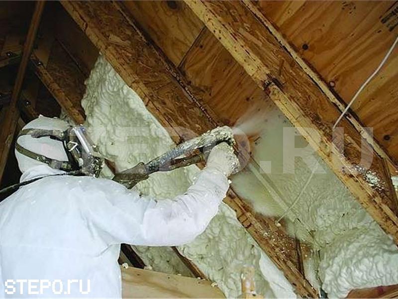 Пенный утеплитель для крыши - клуб мастеров