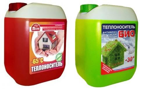 Выбор теплоносителя для системы отопления загородного дома