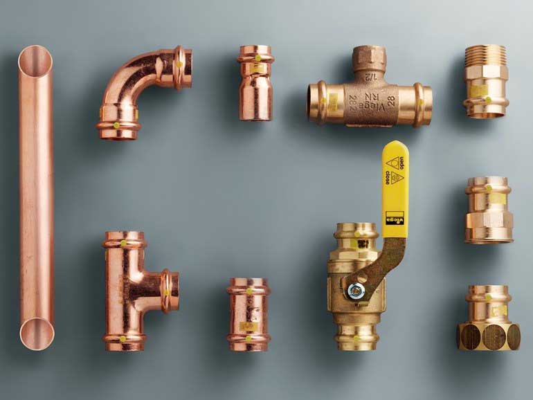 Соединение медных труб: инструкции и сравнение различных монтажных технологий