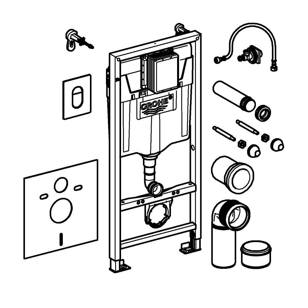 Особенности установки и ремонта подвесной инсталляции grohe