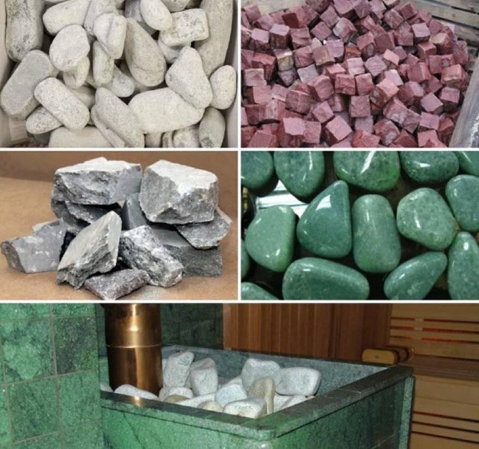 Камни для бани, какие лучше выбрать?