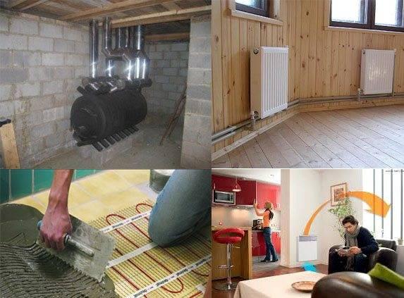 Как обогреть дом без отопления | всё об отоплении