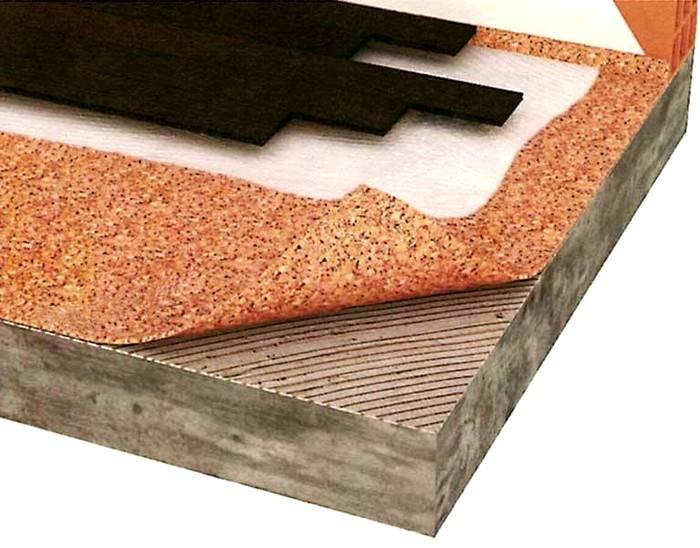 Подложка под линолеум на бетонный пол: какую выбрать и как утеплить напольное покрытие в квартире, что подложить и нужен ли утеплитель