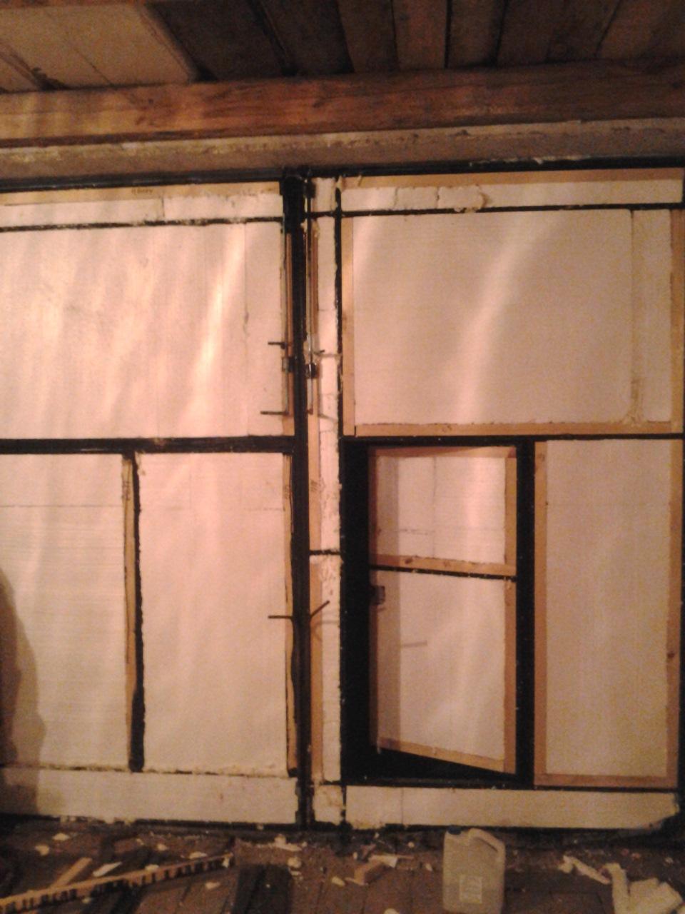 Утепление ворот гаража по периметру