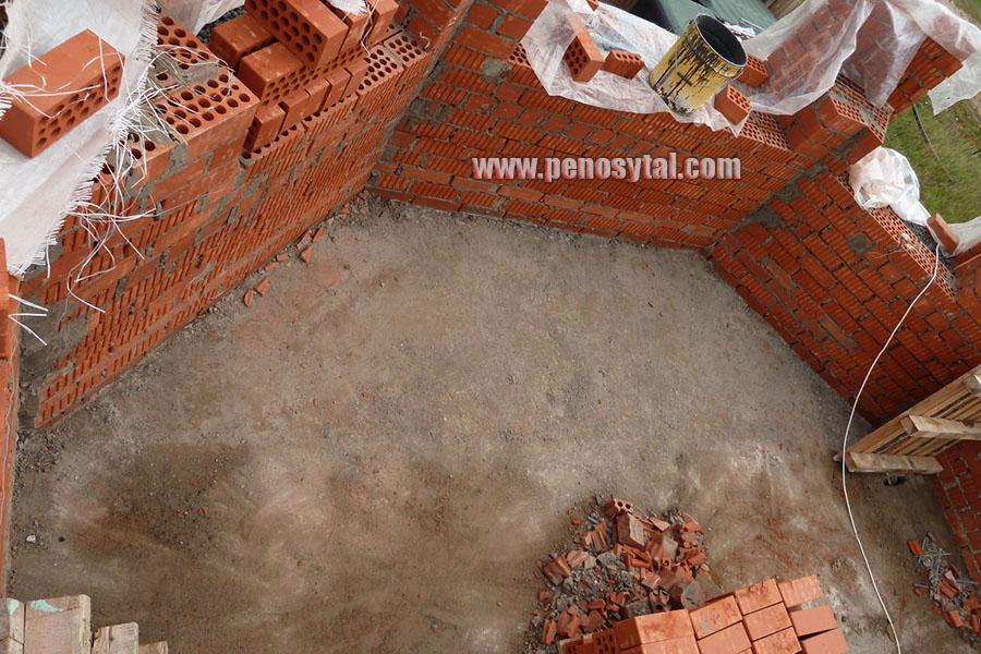 Утепление стен керамзитом