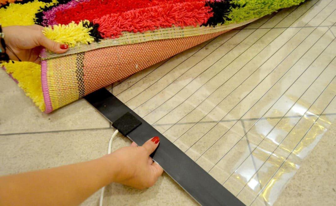 Ковры с подогревом: теплый электрический ковер-обогреватель для пола, инфракрасное покрытие с электроподогревом