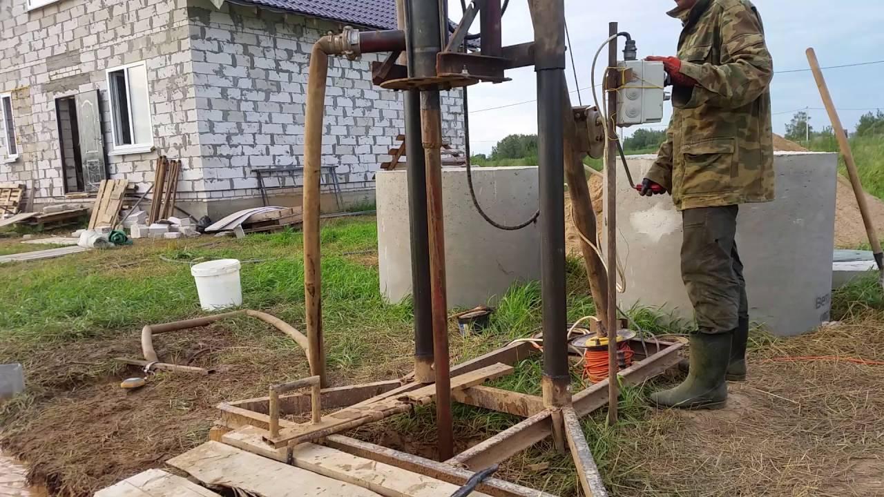 Гидробурение скважин на воду своими руками: 4 этапы