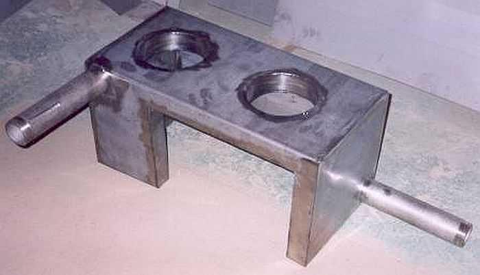 Теплообменник для банной печи: процедура изготовления